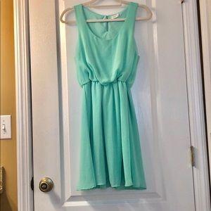 Lush midi swing dress